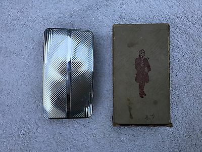 Vintage Silver Plated Clothes Brush