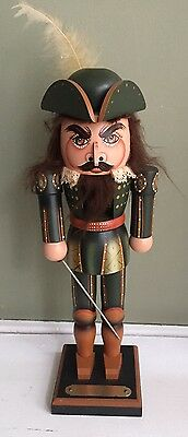 "Milford Nutcracker ""Cicero"" Hand Signed Limited Edition 1988"