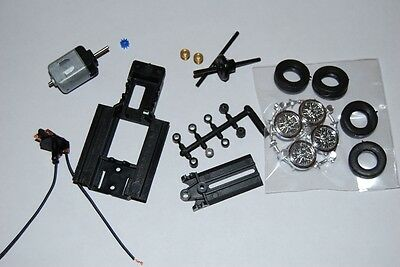 PCS 32 SLOTCAR CHASSIS inc. all running gear and WIRE wheels!