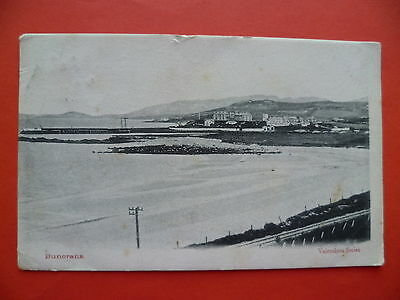 Co Donegal: Buncrana, masted sailing ship in bay, 1903