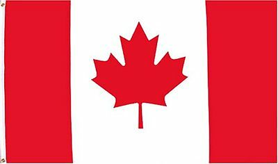 "Meduim High Quality CANADA Flag 2'X3' - Indoor/Outdoor - 24""X36"""