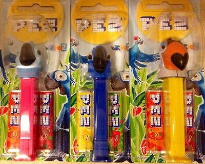 Rio 2 Pez Dispenser Set of 3