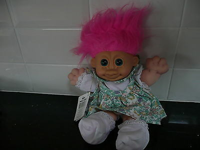 Rare original Russ Troll Kidz Doll with tag