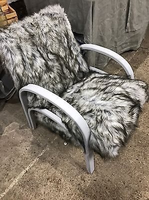 Upcycled armchair lounge chair