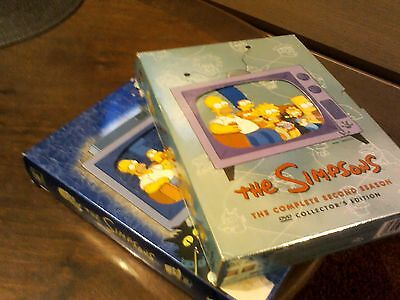 simpsons box sets 8discs in total