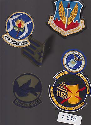 Vintage Usaf Air Force Military Patches (C595)
