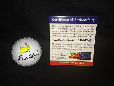 Ray Floyd Signed Official Masters Golf Ball 1976 Champ PSA/DNA #2