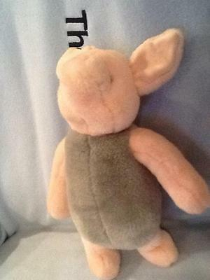 "Gund Disney Classic Cutest Piglet Winnie The Pooh Plush Stuffed Animal 11"" Euc"