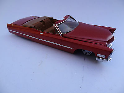Jo-Han 1968 Cadillac DeVille Convertible Boss Man FOR PARTS OR PROJECT CAR