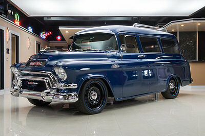 1955 GMC Suburban  No Expense Spared, LS1 Engine, 4L60E Auto, Independent Suspension, 4-Wheel Disc