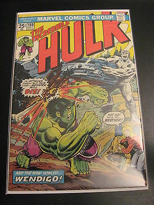 INCREDIBLE HULK #180 Key Issue! 1st Wolvy! (FN -)  **Super Bright & Glossy!**