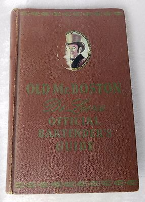 Old Mr. Boston DeLuxe Official Bartenders Guide 1955 12th Edition Book