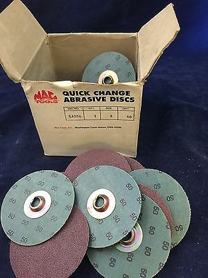 Mac Tools Quick Change Abrasive Disc Sa350 Pack Of 25