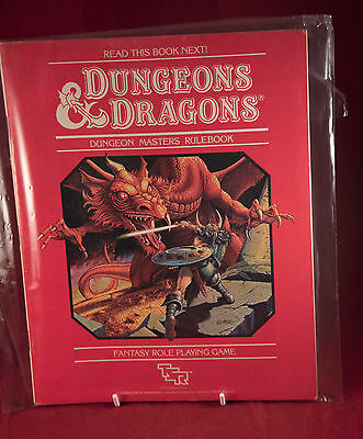 Dungeons Dragons 1st Edition Dungeon Masters Rulebook TSR