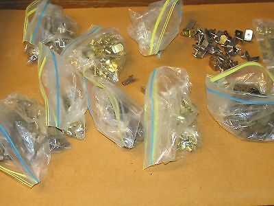 Lot of  Vintage/ NOS Assorted Styles Cabinet Shelf Clips