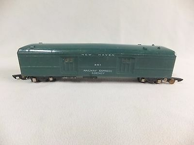 American Flyer 651 Green New Haven Baggage Car