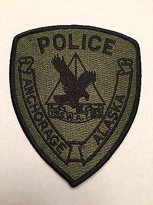 Anchorage Alaska SWAT Subdued Patch Sheriff Police  2