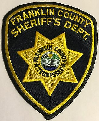 Franklin County Tennessee TN Tenn Police Sheriff Patch