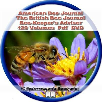 American Bee Journal Bee-Keeper British Bee Journal and Bee-Keepers  Books 2 DVD