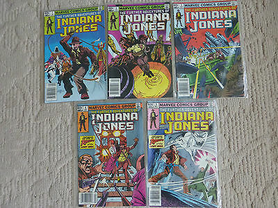 Further Adventures Of Indiana Jones 5 Issue Lot #1-5  Very Fine To Near Mint