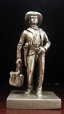 Vintage Solid Silver -Italian Soldier Miniature,dollhouse,stampe -Made In Italy-