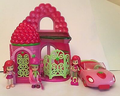 Strawberry Shortcake Scented Dolls, House & Car