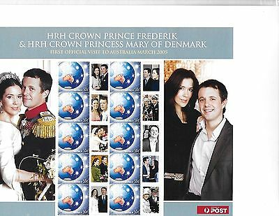 Princess Mary and Kate Wedding Stamps and Post cards Lot 1