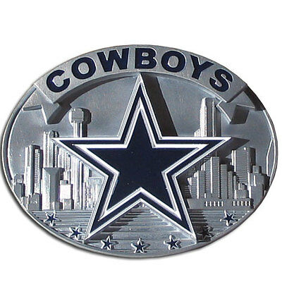Dallas Cowboys Pewter Belt Buckle  NFL Licensed Team Football Limited Edition