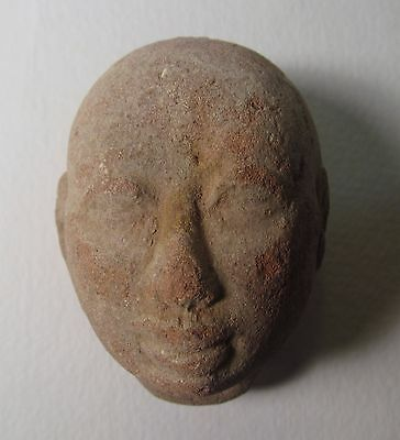 Egyptian Clay head