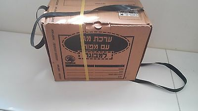 2002 new ISRAELI  ADAULT CIVILIAN GAS MASK WITH blower-sealed
