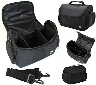 Large Deluxe Camera Carrying Bag Case For Nikon D3400 D5600