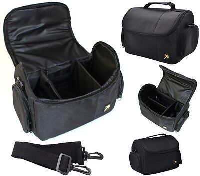 Large Deluxe Camera Carrying Bag Case For Nikon D3400