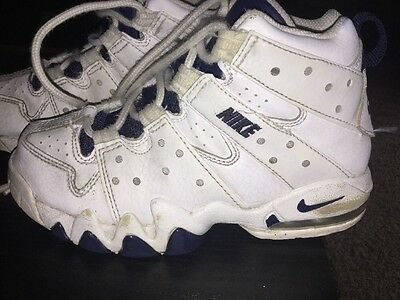 Nike Air Max 2 Cb 94 Charles Barkley White Kids Size 13C