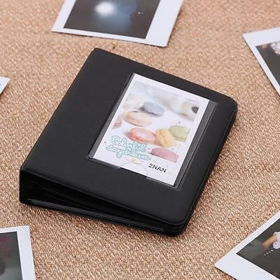 64 Pockets Picture Album Case Photo Candy Color for Fuji Instax & Name Card G5V8