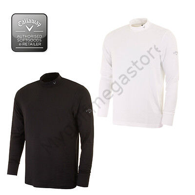 Callaway Golf Pour homme Col Rond Mock Manche Longue Sous-pull - CGKF5043