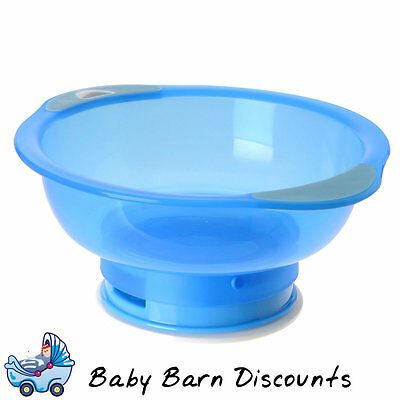 Heinz - Baby Basics Unbelievabowl Suction Bowl (Stage 3) for 6m+ - Blue
