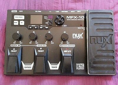 Guitar Modelling Processor By Nux
