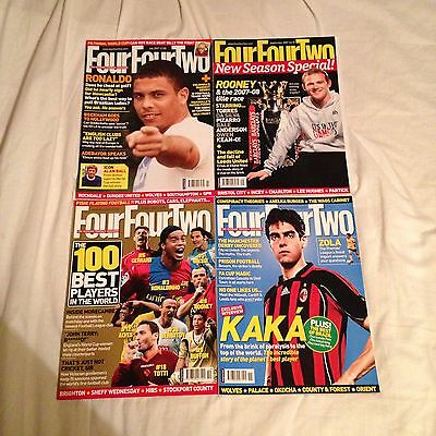 4 Issues Of Four Four Two Magazine From 2007