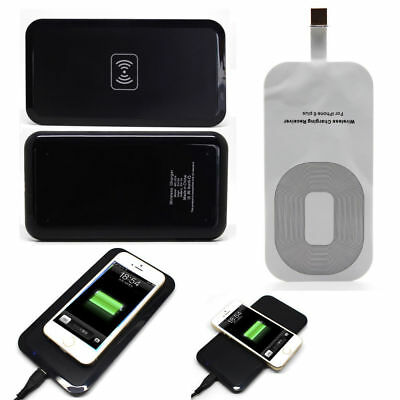 CHARGEUR DOCK SANS FIL WIRELESS QI À INDUCTION + PATCH RECEPTEUR POUR iphone 6