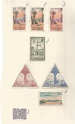 Somalia Small  Selection Of Unused  Definitives  Ref 242