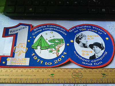 Girl Guides / Scouts 24 cm 100 years