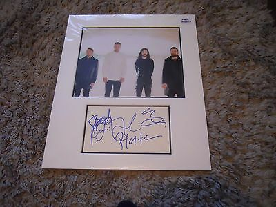 The Imagine Dragons Mounted Autograph