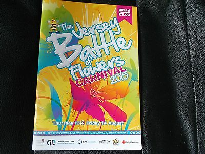 Battle of flowers Jersey C.I. Official Programme 2015