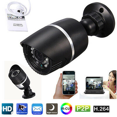 720P HD IP Kamera WLAN Wireless Netzwerk Webcam IR LED Nachtsicht Camera Outdoor