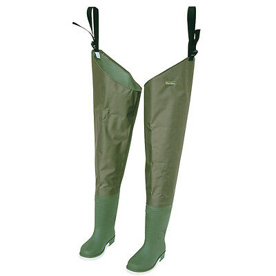 Snowbee THIGH Waders Size 9 210D Nylon THIGH Booted Wader New