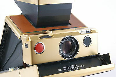 Polaroid SX 70 Alpha 1 Land camera Mildred Scheel Gold edition sx70 Ref.42163