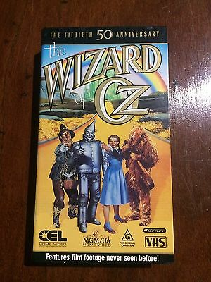 The Wizard Of Oz on VHS.Vintage.1989.A Very Rare Find