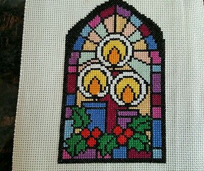 Christmas cross stitch for cards