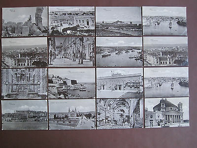 Malta - collection of 16 vintage / old post cards- see below