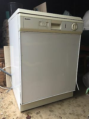 White BLANCO Dishwasher Good Clean Condition Pick Up Adelaide